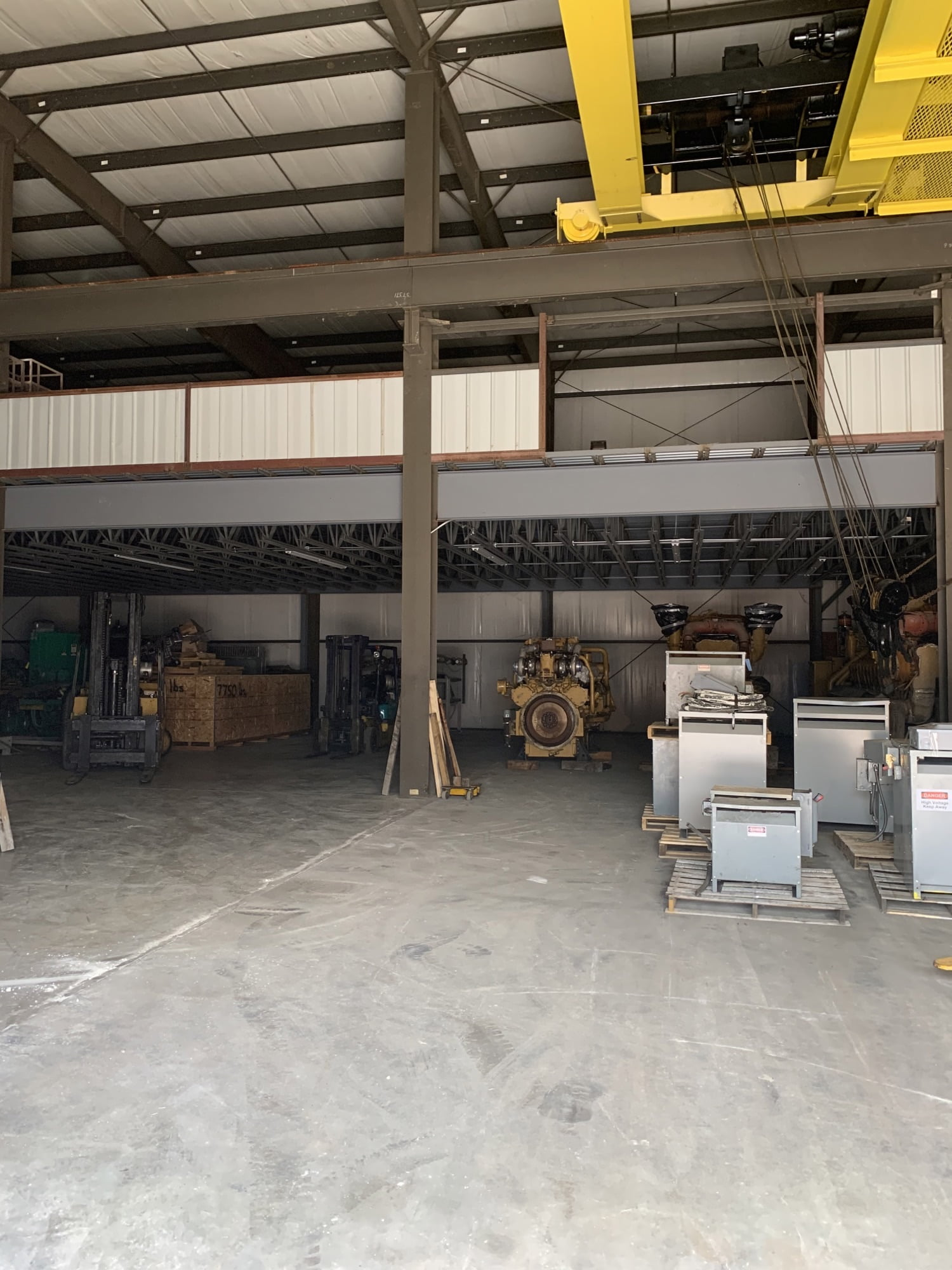 Warehouse storage services at T.L. Jackson Construction, Inc. in York, PA